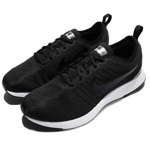 Nike-Dualtone-Racer-GS-Black-Pewter-White-Womens-Kids-Running-Shoes-917648-009