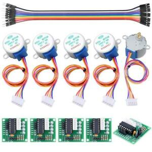 5V-Schrittmotoren-4-phasig-ULN2003-Treiberplatine-28BYJ-48-per-Arduino-LED