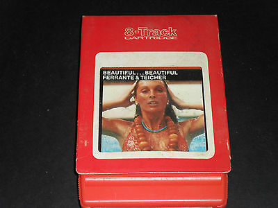 Other Formats Ferrante & Teicher-beautiful...beautiful 8-track Tape-good Condition