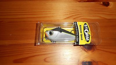 Storm Rockin Shad Lipless Crankbait Fishing Lure Color Blue Steel Shad NEW!