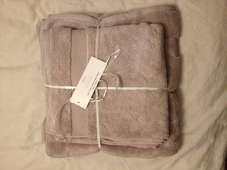 Serviette Main et serviette de bain Set CHAMPIGNON COULEUR par House Of Fraser
