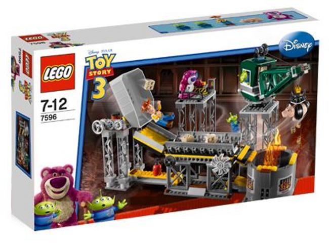 LEGO 7596 Toy Story Story Story - Trash Compactor Escape - 2010 - w  BOX b55e65