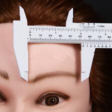 Microblading Eyebrow Stencil Reusable Measuring Shaper Tattoo Ruler Makeup Tools