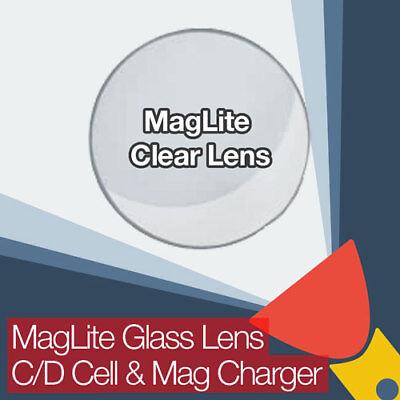 Maglite Ultra Clair AR Coated Glass Lens Pour C//D cellule et chargeur MAG Torches