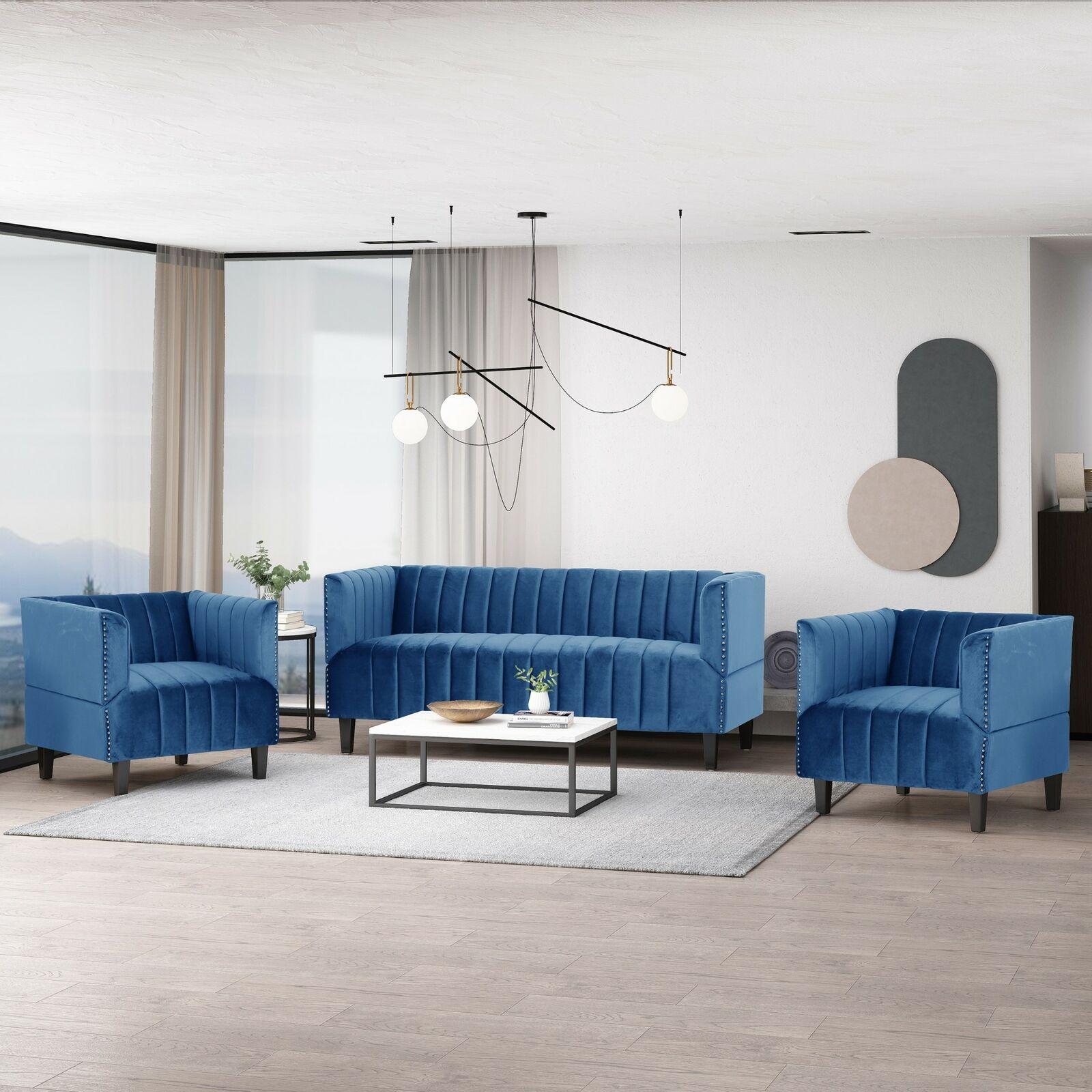 Modrtn Vanity Bench Gold And Blue Living Room Benzara For Sale Online Ebay