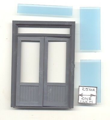 Half (G) Scale - Double Door - w/ Transom 1:24 miniature 3964 Grandt Line USA