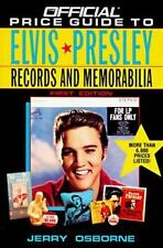 Official Price Guide to Elvis Presley Records and Memorabilia-ExLibrary