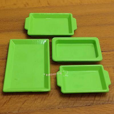 Dollhouse Miniature Toy 1:12 Kitchen A Plastic Green Food Mixers H2.2cm SPO440