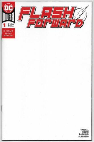 NM 9.4 Stock Photo Dc Comics 9// Of 6 STL130737 Flash Forward #1 Blank Var Ed