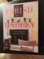 Parish Hadley Fifty Years Of American Decorating By Albert Hadley Christopher Petkanas And Sister Parish 1995 Hardcover For Sale Online Ebay
