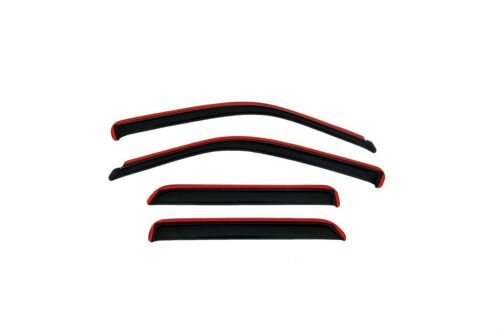 Auto Ventshade 194944 Side Window Vent-Ventvisor In-Channel 4 pc