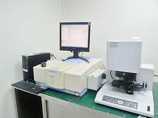 SHIMADZU IR PRESTIGE-21 FTIR SPECTROPHOTOMETER, AIM-8800 MICROSCOPE w ATR-8800M