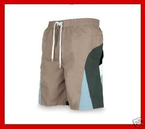 Mens-Boys-Lined-Brown-Shorts-Sizes-S-M-L-XL-XXL-B63