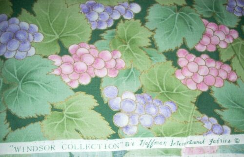 1 YD-Vintage Fabric-Windsor Collection by Hoffman International Fabrics