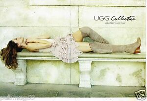 Publicite-Advertising-2011-2-pages-Pret-a-porter-bottes-UGG