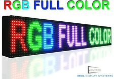 Wifi 12 X 63 Full Color Programmable Business Led Sign Digital Display Board