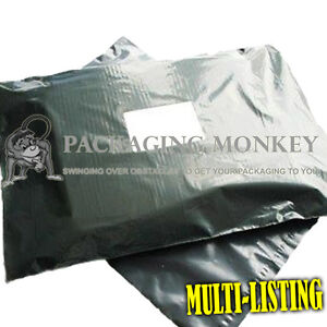 STRONG-Grey-Postal-Postage-Mailing-Poly-Bags-ALL-SIZES