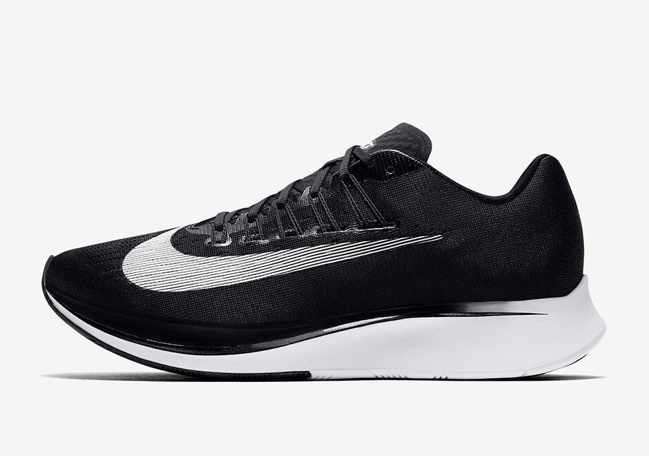 New Men's Nike Zoom Fly Black White Anthracite Size 9 880848 001