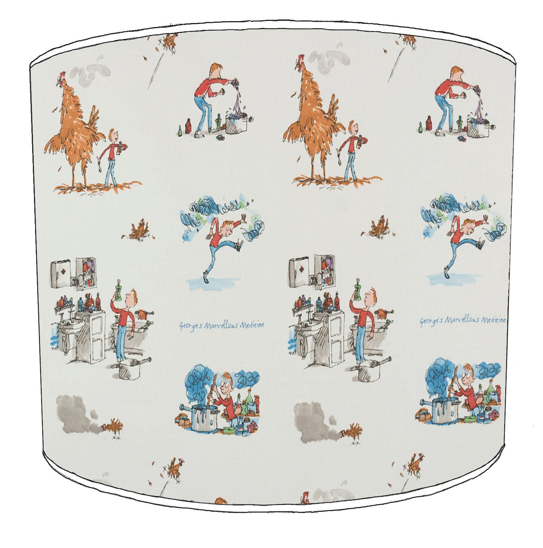 Roald Dahl stampa stampa stampa tabella paralumi o Luci Soffitto Tonalità Ciondoli Illuminazione 6888fc