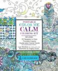 A Zen Coloring Book: Portable Color Me Calm Coloring Kit : Includes Book, Colored Pencils and Twistable Crayons by Angela Porter and Lacy Mucklow (2016, Kit)