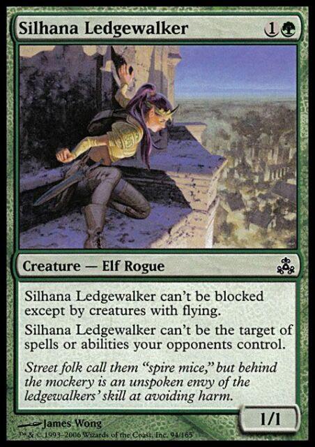 MTG Magic - (C) Guildpact - Silhana Ledgewalker - SP