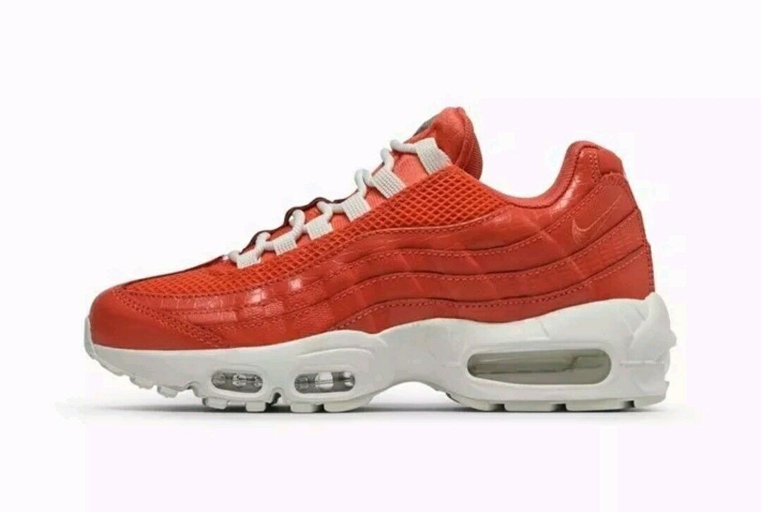 Nike Air max 95 Premium Summer Rush Coral Summit White 807443-802 Sz 5