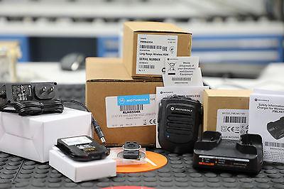 Motorola OEM RLN6554A Bluetooth Wireless Remote Speaker Mic KIT APX6000 APX7000