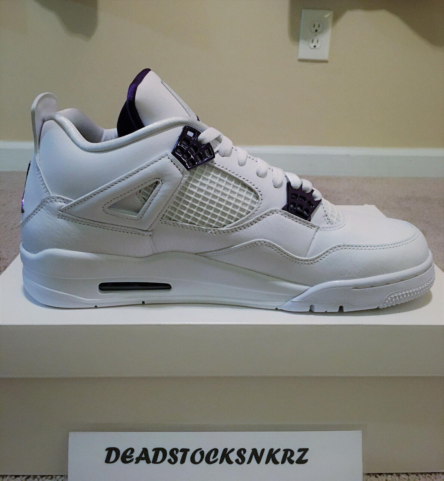 Size 14 - Jordan 4 Retro Metallic Pack - Court Purple 2020 for ...