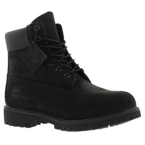 Timberland 6 Inch Premium Mens Black Nubuck Waterproof BOOTS Size UK 7-11  Uk8 Euro42 | eBay