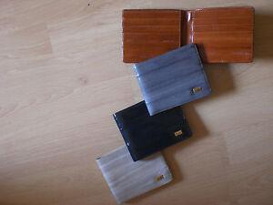 Farben *unbenutzt Produkte Werden Ohne EinschräNkungen Verkauft Versch Kreditkarten-etui Aus Edlem Tiefsee-aalleder