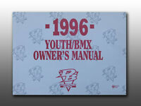 Vintage, Collectable 1996 Diamond Back Bmx Bicycles, Owner's Manual
