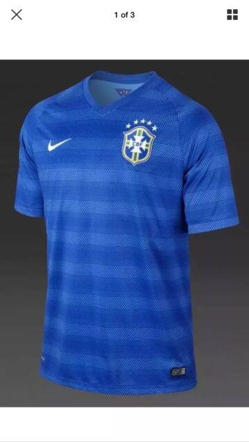 hot sale online 473c8 5ccab Nike Brazil Authentic Soccer Jersey DriFit Size Men's XL New W/ Tags Free
