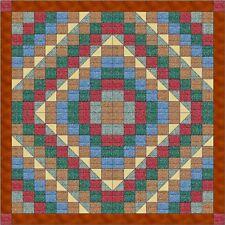 Quilt Kit/Fiona's Fancy Chain/Pre-cut Fabric Ready2Sew/Textured fabrics