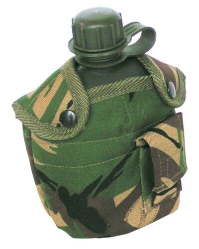 2 x Kombat Cadet Scout Camping Bushcraft Camo bouteille d/'eau DPM