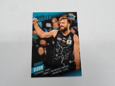 2017 Afl Select Hilites Card Sh11 Charlie Dixon Port Adelaide 147/316 Australian Football Cards Sports Mem, Cards & Fan Shop
