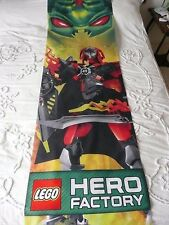 Lego Hero Factory Cloth Display Fabric Banner Advertising 200 x 58cm