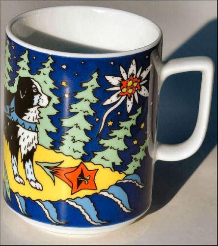 BARRY BOPLA Porzellan MAXITASSE Mug Cup Becher Tasse Kaffee Tee Glühwein 0,30l
