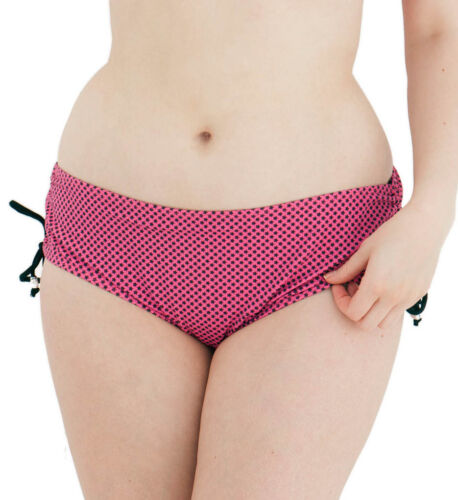 Curvy Kate Starry Eyed Adjustable Bikini Short CS2213 in Flamingo Pink Size 20