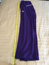 """Men/'s SMALL /""""The Rock/"""" Basketball Poly Side Snap Up Pants NEW Burgundy"""