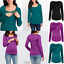 Pregnant Womens Maternity Nursing Tops Blouse Plain Breastfeeding T-Shirt 6-18