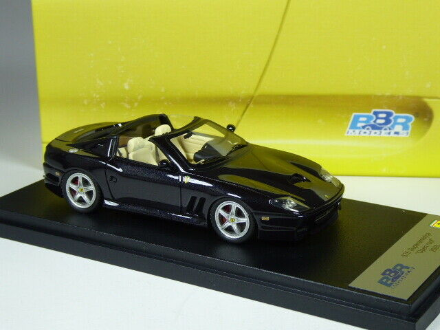 (KI-03-20) BBR 170D Ferrari 575 superamericana Roof Open in 1 43 BNIB