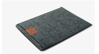 "Envelope 11""13""15"" Laptop Sleeve Woolen Felt Case Cover Bag For Macbook Air Pro"