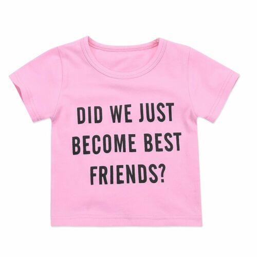 Big//Little Sister Matching Top T-shirt Newborn Baby Girl Romper Bodysuit Outfits