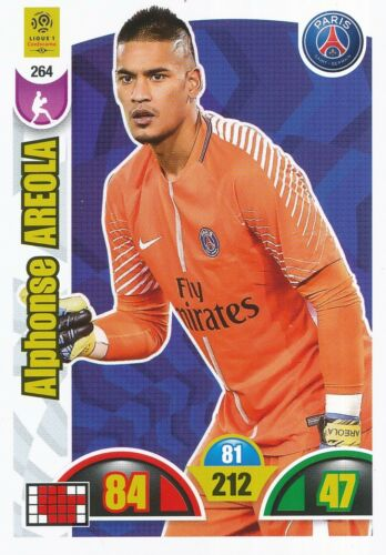 264 ALPHONSE AREOLA #  FRANCE CARD ADRENALYN LIGUE 1 2019 PANINI