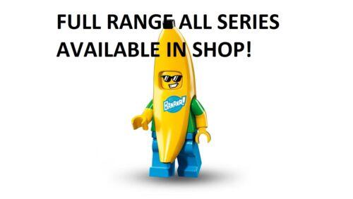 Lego Banana Guy série 16 Non Ouvert Neuf Factory sealed