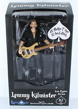 "Motorhead Lemmy Kilmister w Guitar 6"" Inch Action Figure Toy New In Box Rare"