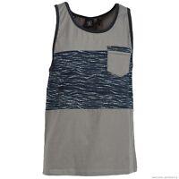 Volcom Stone Grizzle Tank Top Shirt Gray Nwt/new Mens $35
