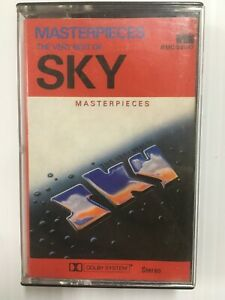 The-Very-Best-Of-SKY-Masterpieces-Ambient-Audio-Music-Cassette-Tape
