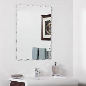 Angelina Modern bathroom vanity mirror