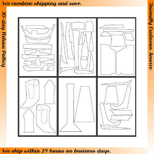 1 12 Enzo Interior Pewter Metallic Grey Carbon Fiber Sheet for Tamiya